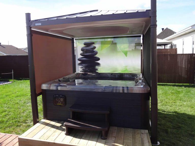 covana hot tub outside