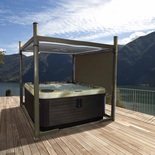 hot tub evolution outside