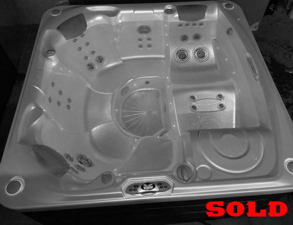 hot tub with the sold
